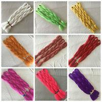 "24"" Ombre Dip Kanekalon Jumbo Braid Hair Extensions Best Quality Fiber 43colors"