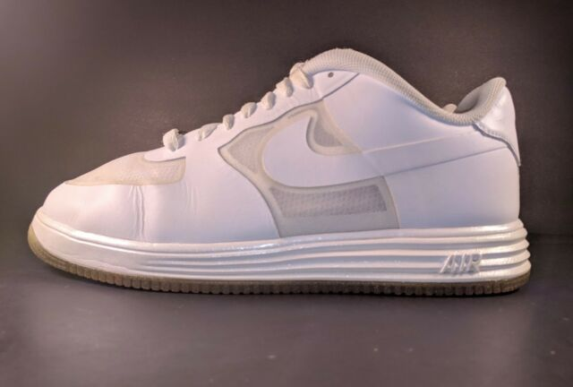 hot sale online d46cf 0094d NIKE AIR LUNAR FORCE 1 FUSE QS EASTER PEARL WHITE ICE SOLES 614491-100 (