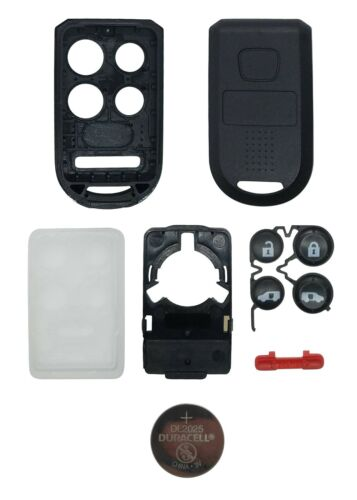 NEW REPLACEMENT CASE /& BUTTON for Honda Odyssey w// DURACELL Battery OUCG8D-399HA