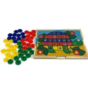 Melissa & Doug Sort and Snap Color Match Sorting and ...