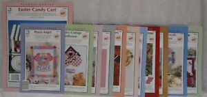 Sheets YOU PICK Leaflets HOUSE of WHITE BIRCHES Plastic Canvas Books Patterns