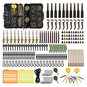 217pcs-Carp-Fishing-Tackle-Accessories-Kit-Carp-Hook-Sleeves-Swivels-Stop-Beads