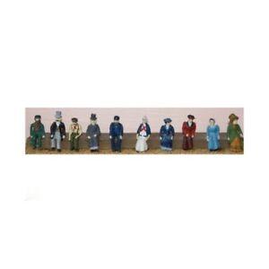 10-Victorian-Edwardian-Seated-figures-OO-HO-Gauge-Unpainted-Langley-F10
