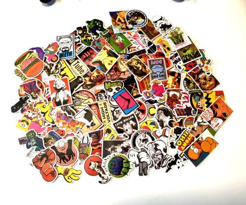 New 30pcs Skateboard Sticker Graffiti Laptop Car Luggage Decals Mixed Stickers