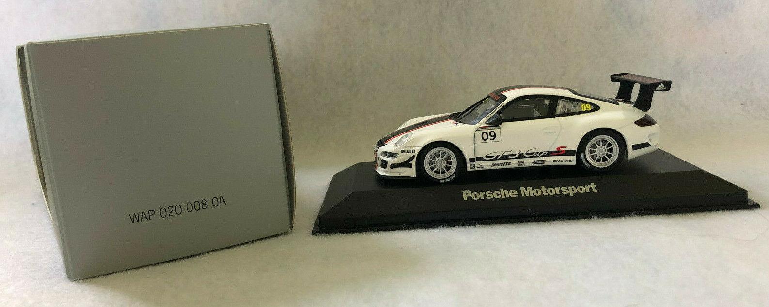 encuentra tu favorito aquí Minichamps Escala 1 43rd Porsche Porsche Porsche 911 GT3 Cup S,  09, Porsche Motorsport, blancoo  connotación de lujo discreta