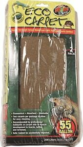 Zoo Med Reptile Cage Carpet For 55 Gallon Tanks 48 X 13