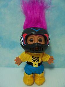 NASCAR-MOTOCROSS-MOTOR-CROSS-RACER-5-034-Russ-Troll-Doll-NEW-IN-ORIGINAL-BAG