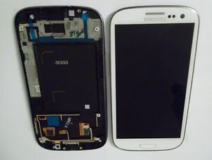 Original-Samsung-Galaxy-S3-i9300-Display-LCD-Touchscreen-Scheibe-Weiss-Weiss