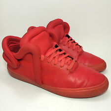 Supra Falcon Red Monochrome S78015 Lil Wayne LIMITED EDITION Skate Shoe Size 11