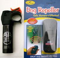 Ultrasonic Anti Bark Training Dog Repeller Police Magnum 3oz Fmh Pepper Spray