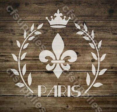 10 Shabby Chic Stencils FRENCH VINTAGE Furniture ART DECOR 125//190 micron