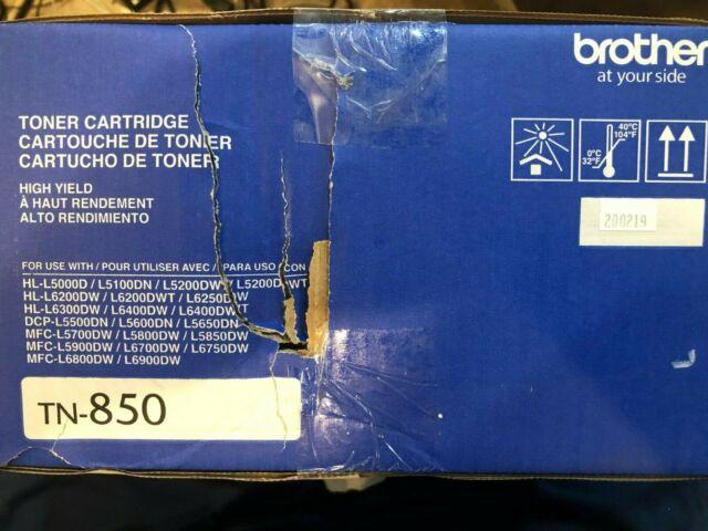 Brother TN-850 High Yield Black Toner Cartridge, TN850 - SEALED - FREE SHIPPING