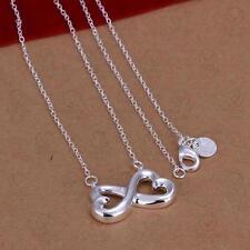 Halskette Unendlichkeitszeichen Infinity Unendlichkeit ewige Liebe 925 Silber
