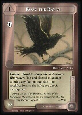 The Wizards Limited Middle-Earth CCG MECCG METW Roac the Raven