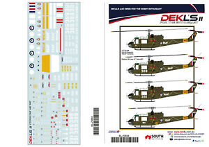 1-72-UH-1B-Iroquois-039-RAAF-039-Decal-DEKL-039-s-II