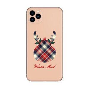 Coque Iphone 12 PRO MAX winter mood tartan