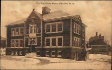 Claremont NH Monadnock Mills in Winter c1910 Postcard
