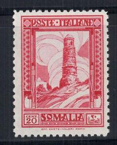 Somalia-1932-Sass-171-Nuovo-100-Serie-Pittorica-20-cent