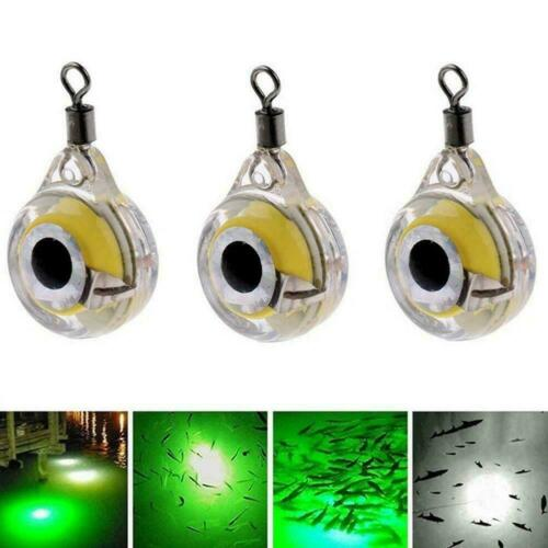 Fishing Flashing LED Light Lure Underwater Night Fishing Light Bait X6D2