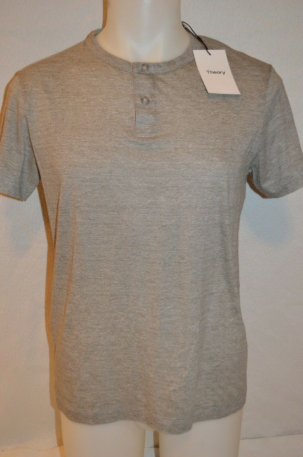 THEORY Man's GASKELL Button Up T-Shirt  NEW  Größe Small  Retail 95