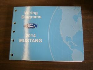 OEM Ford 2014 Mustang Shop Manual Wiring Diagram Book nos GT Shelby GT500 |  eBay | 2014 Mustang Wiring Diagram |  | eBay