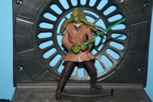 Star Wars 2002 AOTC KIT F Jedi Knight Complet loose figure Weapon Hasbro