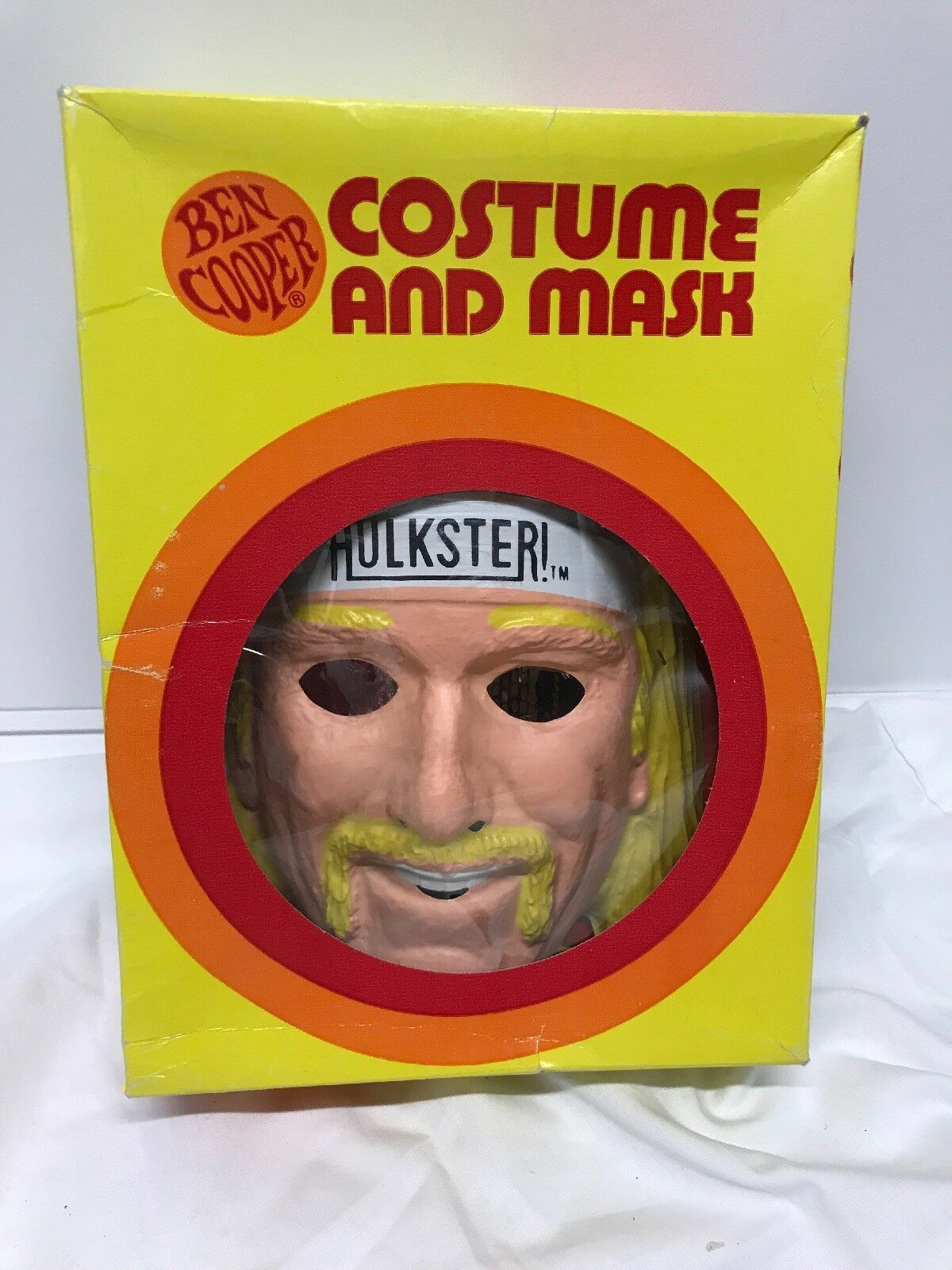 BEN COOPER WWF Hulk Hogan Halloween Costume  LOOK  (RARE)