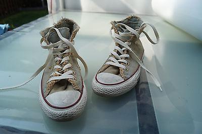 Détails sur All Star Converse Chucks Femme Fille Chaussures Baskets Gr.37 Usé Look Top