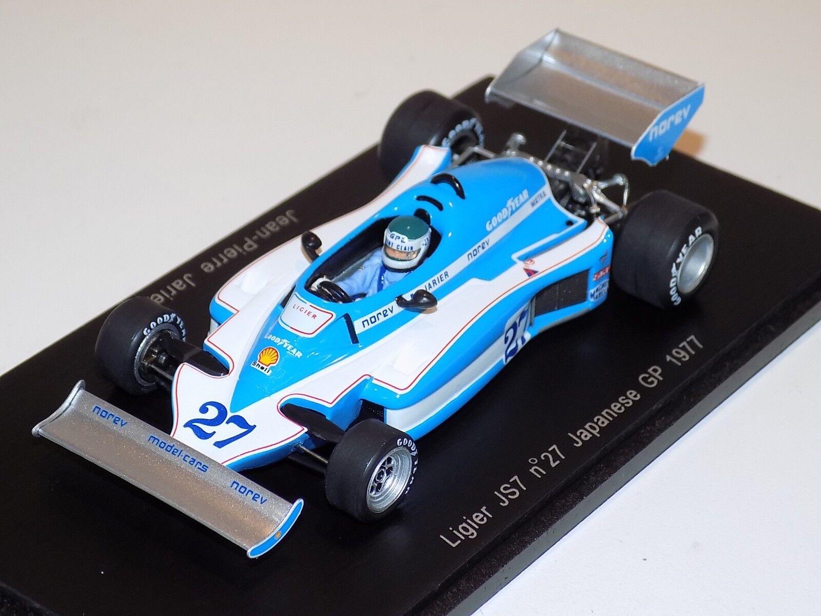 1/43 Spark Ligier JS7 car  27 27 27 form Japanese  GP 1977 J.P.Jareier  S1723 6e94df