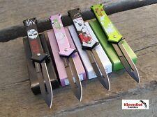 "4 PC JOKER 8"" TACTCIAL Pocket Knife Set WHY SO SERIOUS Batman Assorted Folding"