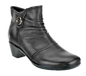 earth origins leather ankle boots mallory a235056 ebay
