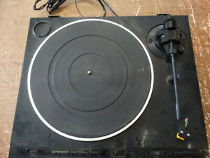 Pioneer-PL-600-Fully-Automatic-Belt-Drive-Vintage-Turntable-Record-Player
