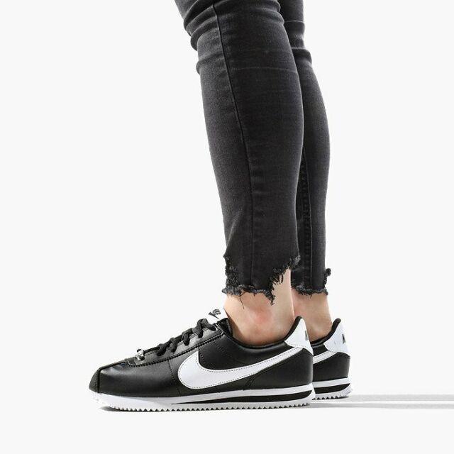 Alerta cayó Intermedio  Nike Cortez Basic SL GS Sneaker Shoes Girls Ladies White Gold 904764 105 Sz  5y for sale online | eBay