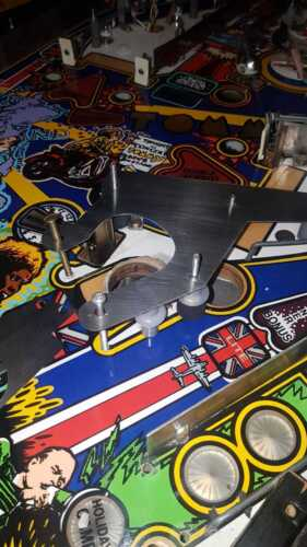 The Who´s Tommy Pinball Wizard Hole Protector Set Tommy Pinball Protector