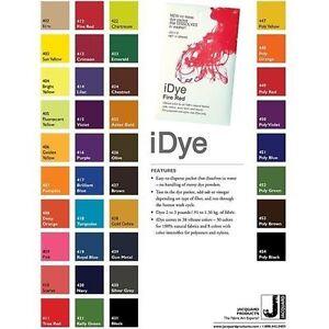 Chartreuse Jacquard iDye Fabric Dye Natural Fibres  14g
