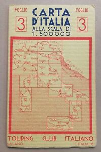 Cartina Italia Torino.25955 10 Cartina Milano Torino Genova Tci Carta D Italia Foglio 3 Ebay