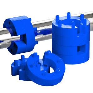 21mm-Federwegsbegrenzer-Set-Blue-Line-Stick-universell-passend-Federwegbegrenzer