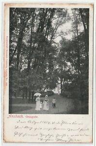 Ansichtskarte-Ansbach-Orangerie-Kunstanstalt-Ludewig-Litho-1909-RAR