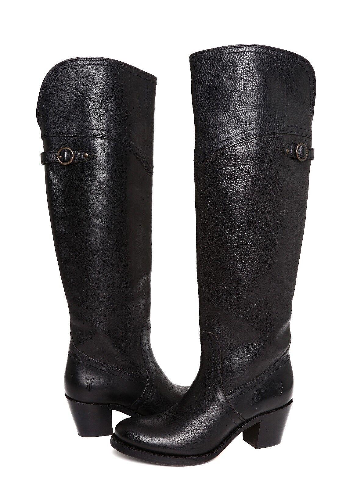 Frye Jane Women's Leather Tall Cuff Boot Sz 6.5B 4649
