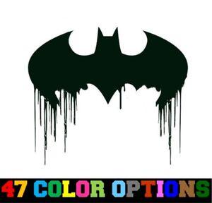 "Batman and Joker Half Evil 333 Dark Knight  Vinyl Car Decal Sticker  10/"" H"
