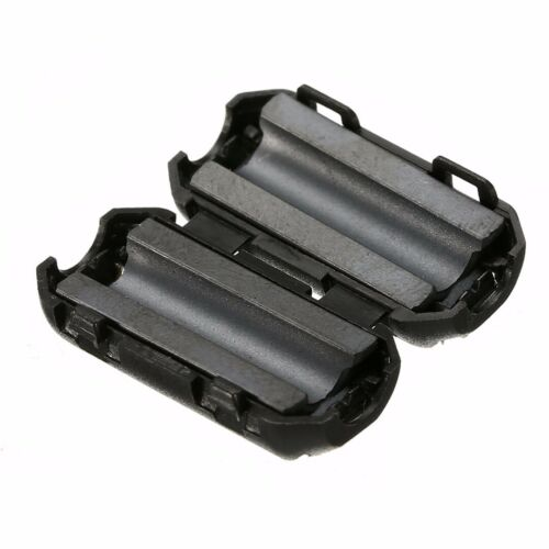 10x Klapp Ferrit Filter Mantel Strom Ferrite Kern Entstörung Für Kabel 3.5-5mm