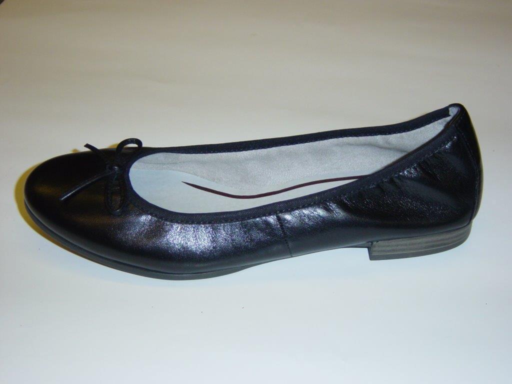 Tamaris Ballerinas   schwarz   40 Glattleder   Größe 37 40   03cdfc