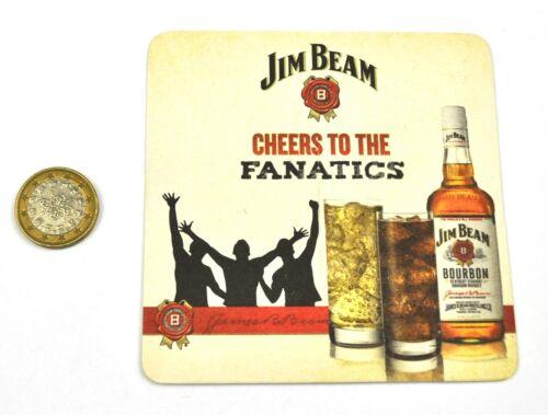 Jim Beam Bourbon Whiskey Bierdeckel Untersetzer Coaster USA