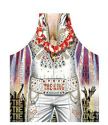 Elvis the King style men funny sexy kitchen apron gag gifts 100% Polyester ITATI