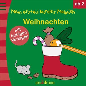 Mein erstes buntes Malbuch Weihnachten EAN: 9783760786377 Verlag: - Fürth, Deutschland - Mein erstes buntes Malbuch Weihnachten EAN: 9783760786377 Verlag: - Fürth, Deutschland