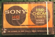 SONY  FECR  46  BLANK CASSETTE TAPE (1) (SEALED)