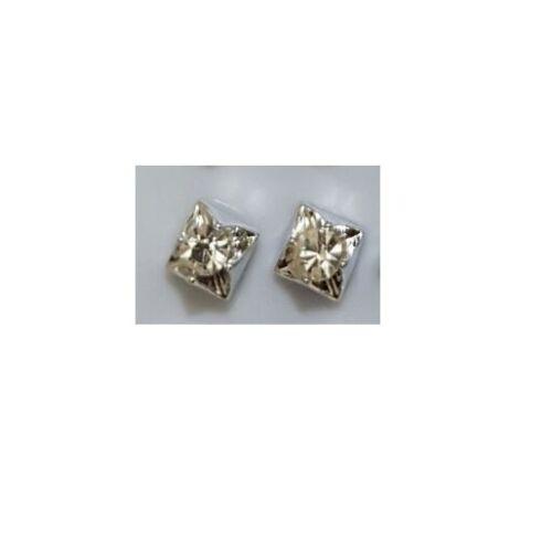 1 Par De Zarcillos De Diamantes De Cristal Pendientes de pendientes de flor estrella para hombres y mujeres