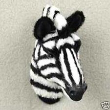 ZEBRA HEAD-Fur Magnets (Handcrafted & Hand painted..Collectable)