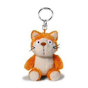 Nici 39019 Katze orange Plüsch Schlüsselanhänger Plüschtier NEU