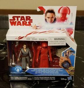 NEW-Star-Wars-Force-Link-Rey-Jedi-Training-amp-Elite-Praetorian-Guard-2-Pack